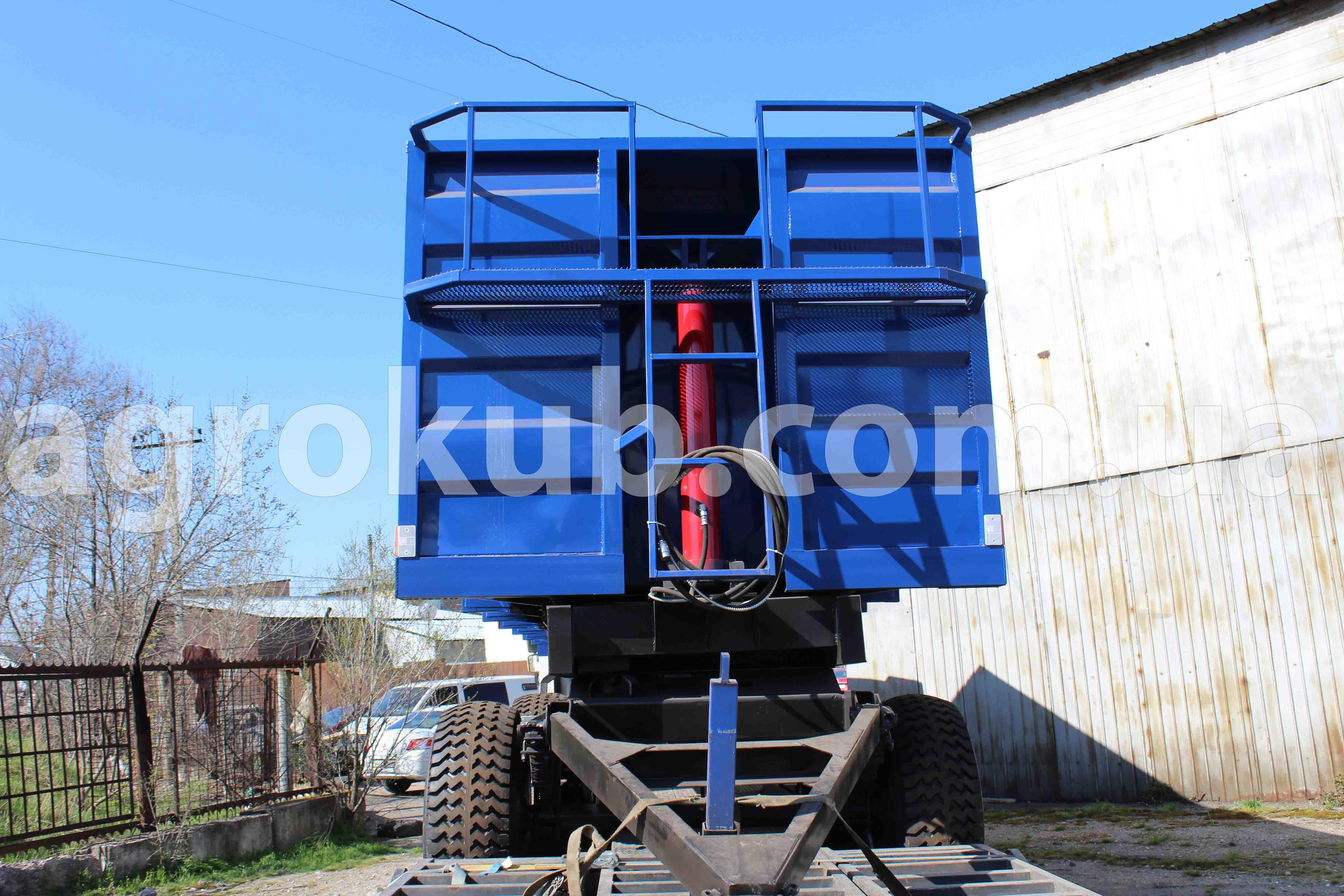 Прицеп тракторный 3ПТС-20